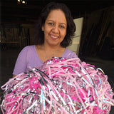 Breast Cancer Awareness March: Custom Confetti Streamers