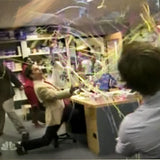 The Office TV show flings our Kabuki stay-attached handthrow streamers