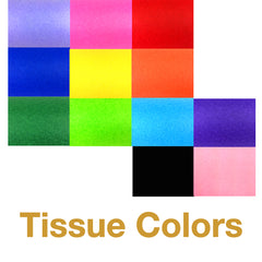 Tissue Confetti Colors - Hand-Launch Flick Sticks