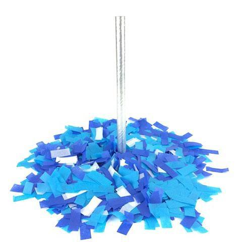 Times Square Confetti & Kabuki Confetti Confetti Hand-Launch Flick Sticks: Brilliant Blues