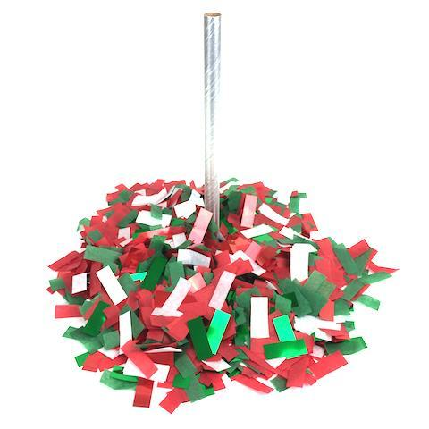 Times Square Confetti & Kabuki Confetti Confetti Hand-Launch Flick Sticks: Christmas - 12 Packs