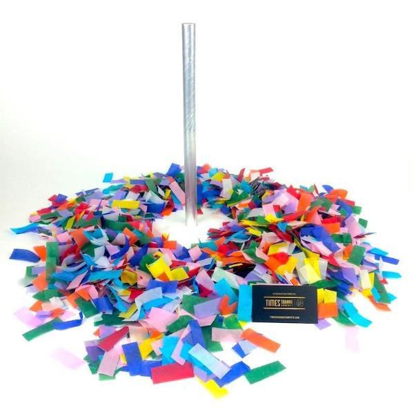 Times Square Confetti & Kabuki Confetti Confetti Hand-Launch Flick Sticks: Multicolor