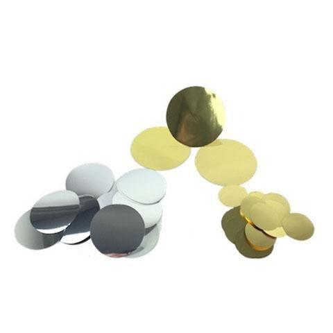 Times Square Confetti & Kabuki Confetti Gold Silver Mix / Metallic / 1 Pound Confetti Coins: Gold and Silver Metallic, in Bulk