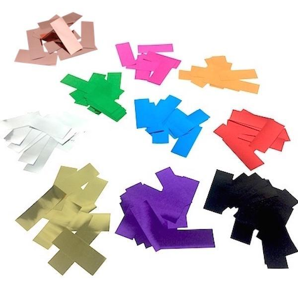 Times Square Confetti & Kabuki Confetti Metallic Confetti: Your Custom Color Flutter Mix in Bulk