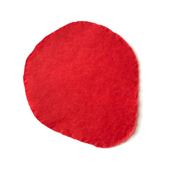 Times Square Confetti & Kabuki Confetti Red / Biodegradable Tissue / 1 Pound Bulk Tissue Confetti Rose Petals in 1 Pound Bulk