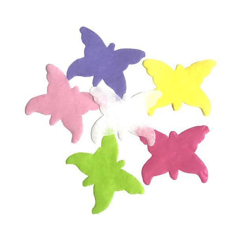 Times Square Confetti & Kabuki Confetti Tissue Confetti Butterflies: Spring Colors, by the Pound