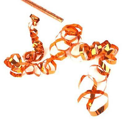 Times Square Confetti & Kabuki Streamer Confetti Orange / 10