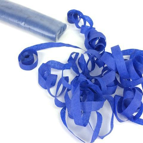 Times Square Confetti & Kabuki Streamer Confetti Royal Blue / 18