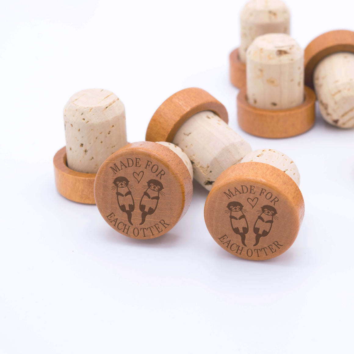 Made for Each Otter Wine Stopper WS0163