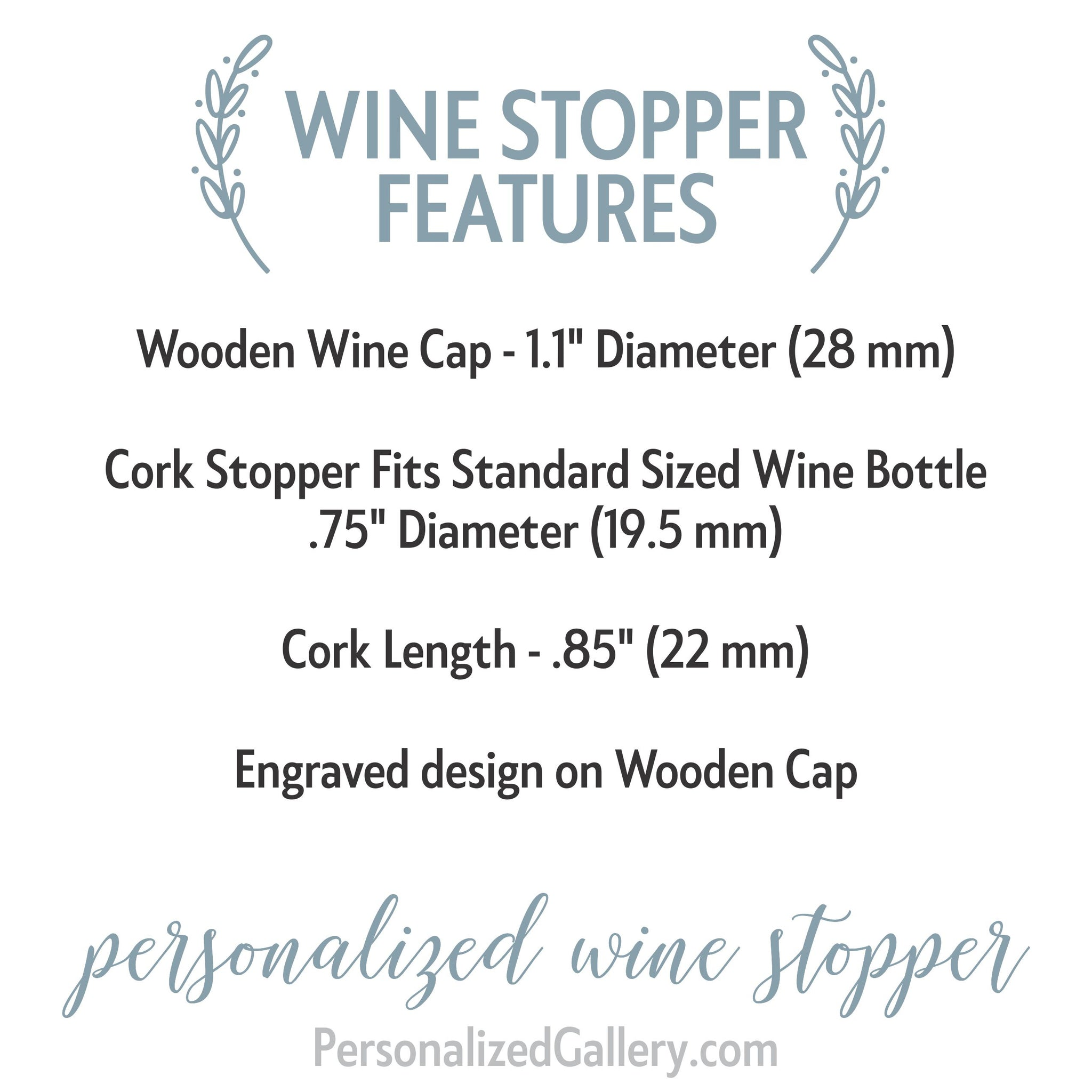 Personalized Wine Stopper Wedding Favor Silver Wine Stopper Wedding Gift Home State 044 Custom Wine Stopper