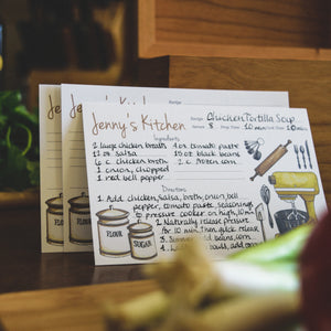 Farmhouse Kitchen Recipe Cards