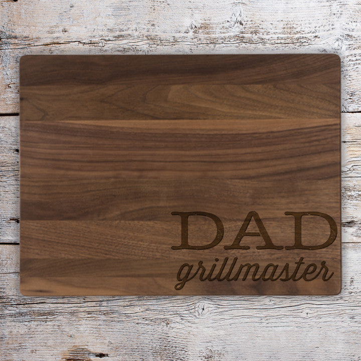 Grillmaster Personalized Cutting Board