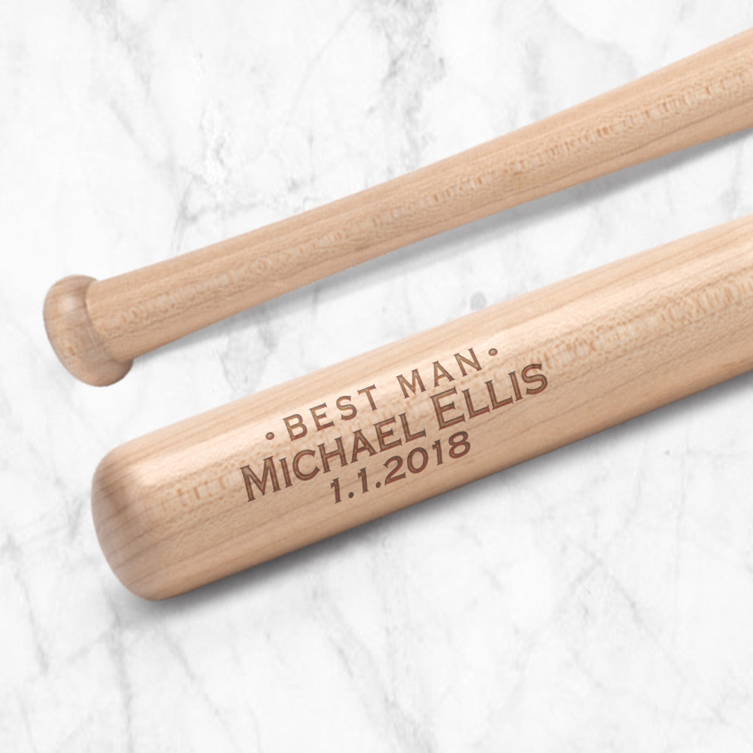 Groomsman Baseball Bat