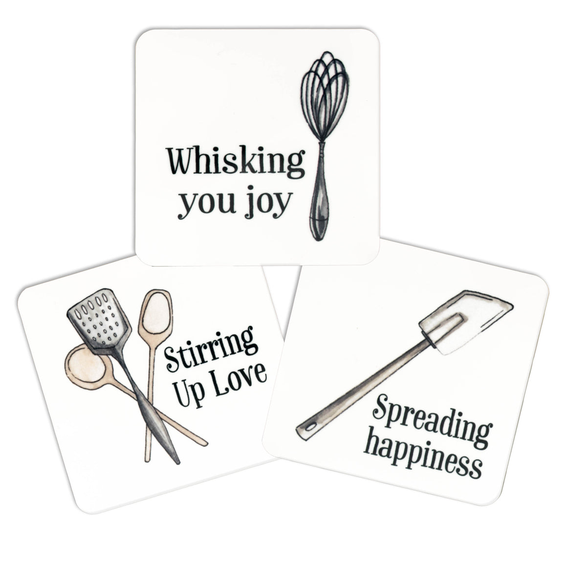 Kitchen Utensil Magnet Set
