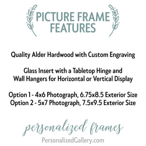 Our First Home Picture Frame