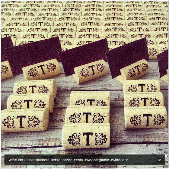 All Collections Tagged Cork Place Card Holders Personalized Gallery