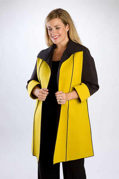 Yellow Reversible High Contrast Coat