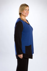 Reversible Blue Tunic