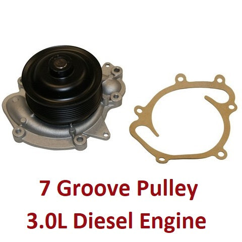 Water Pump 3.0L Diesel Engine (120-4400)