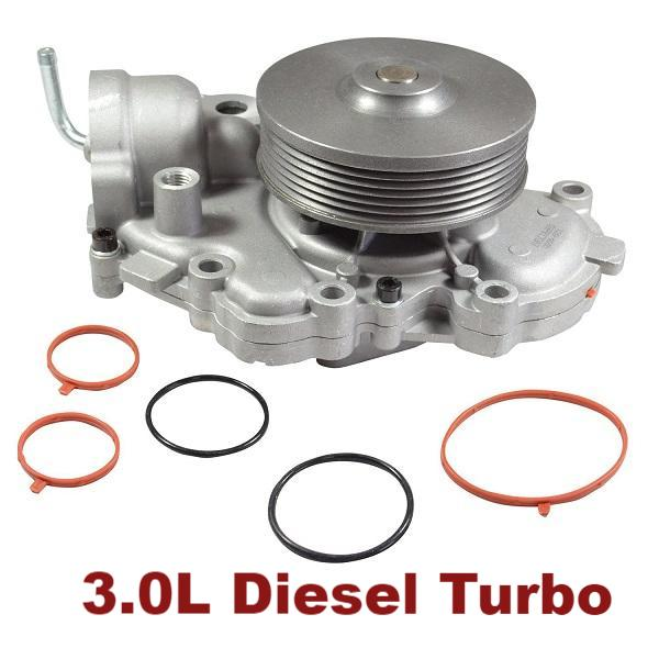 Water Pump 3.0L Diesel Turbo (120-4550)