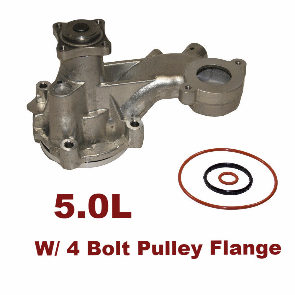 Water Pump 5.0L 4 Bolt Pulley Flange (125-3270)