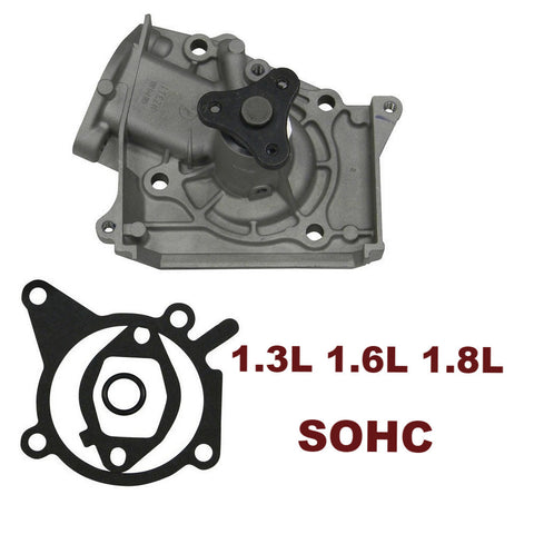 Water Pump 1.3L 1.6L 1.8L SOHC (145-1310)