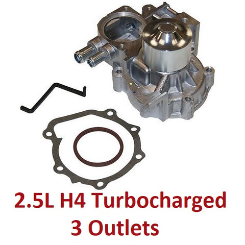Water Pump 2.5L H4 Turbocharged (160-1150)