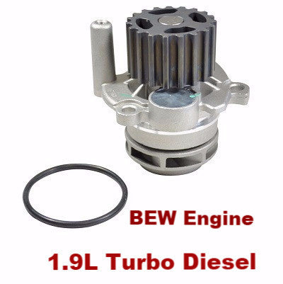 Water Pump 1.9L Turbo Diesel (180-2310)