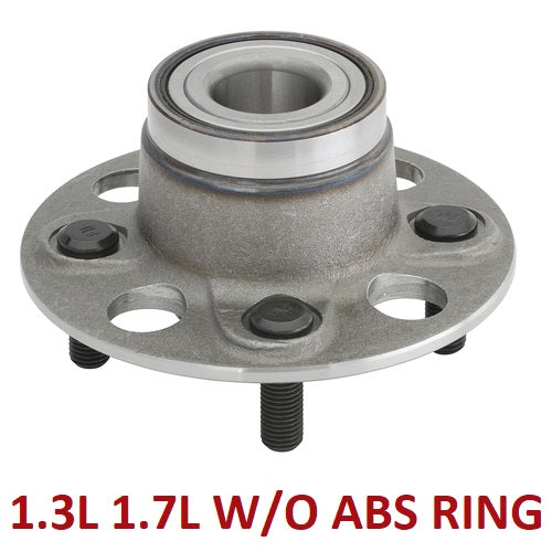 Rear Hub Bearing Non-ABS 1.3L 1.7L (512174)