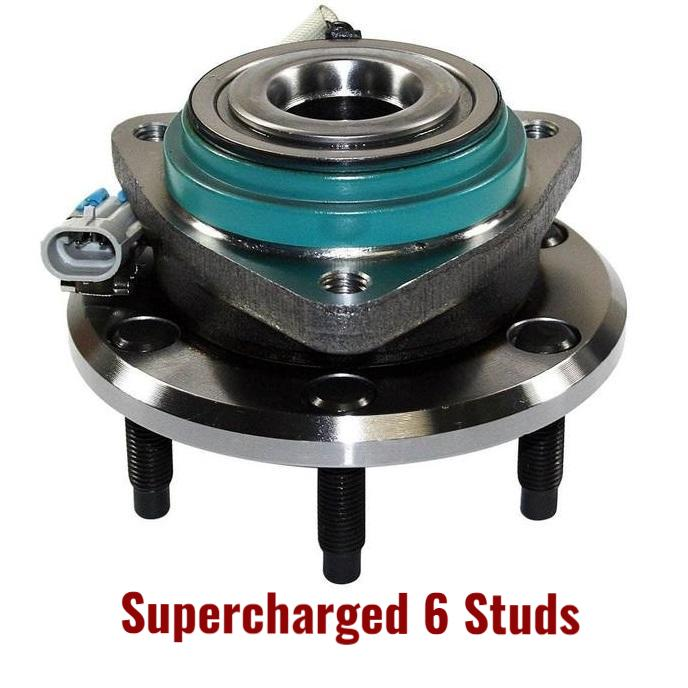 Rear Hub Bearing with-ABS 4.4L STS-V Supercharged 6 Studs (512359)