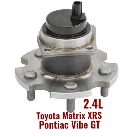 Rear Hub Bearing FWD Matrix XRS; Vibe GT; 2.4L (512406)