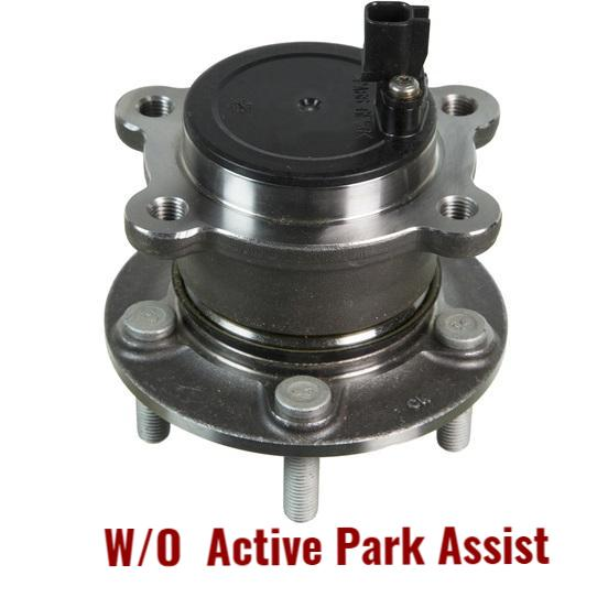 Rear Hub Bearing FWD W/O Active Assist Parking (512499)
