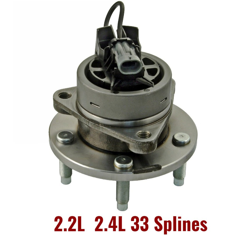 Front Hub Bearing 5 Studs with-ABS (513206)