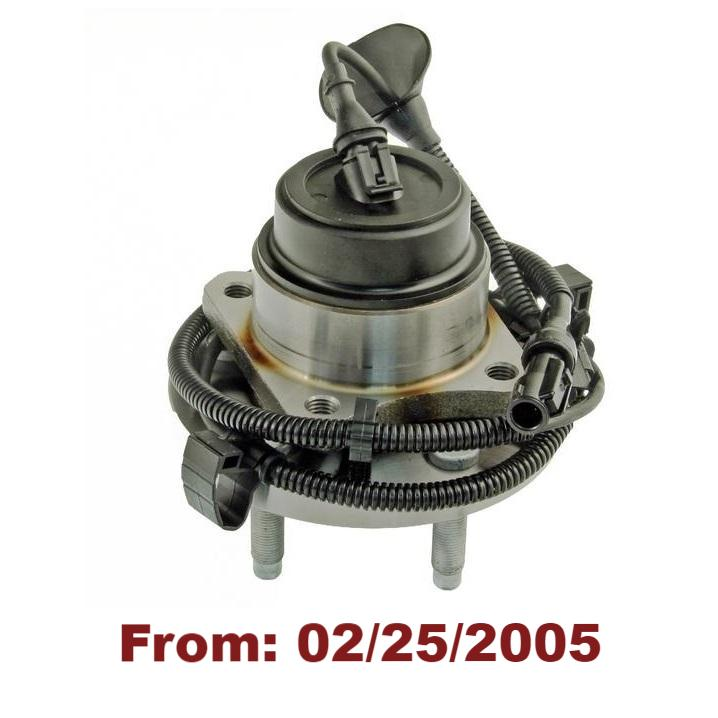 Front Hub Bearing with-ABS (513230)