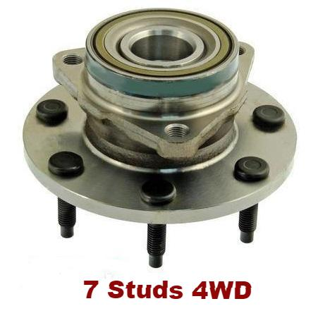 Front Hub Bearing W/O ABS 7 Stud 4WD (515022)