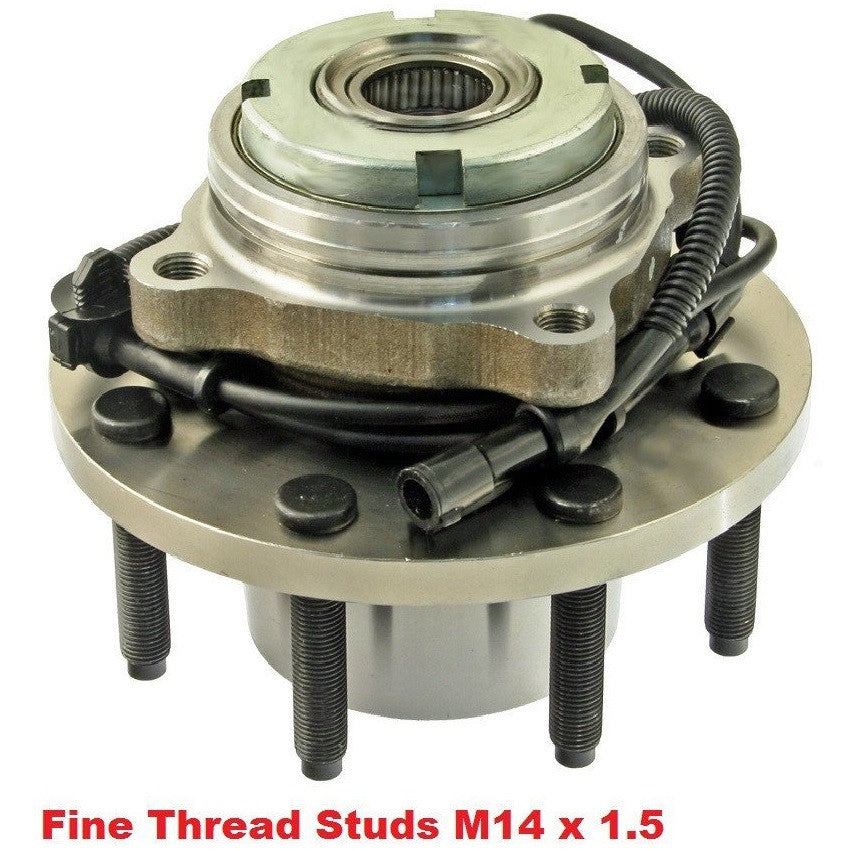 Front Hub Bearing with-ABS 4WD 8 Stud Single Rear Wheel (515056)
