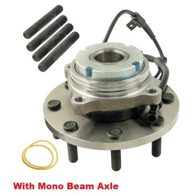 Front Hub Bearing with-ABS RWD 8 Stud (515100)