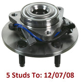 Front Hub Bearing with-ABS 5 Stud; To 12/07/08 (515113)