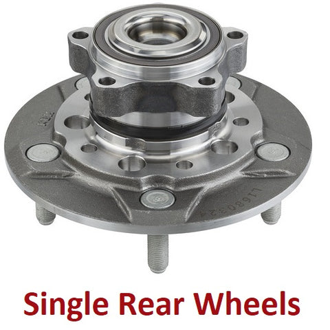Front Hub Bearing W/Single Rear Wheels (515153)