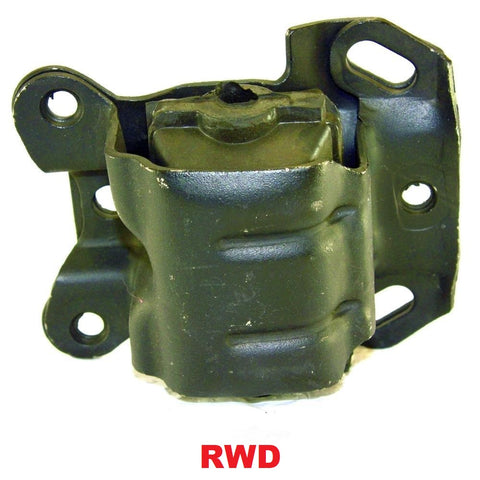 FRONT LEFT & RIGHT ENGINE MOUNT RWD 4.3L
