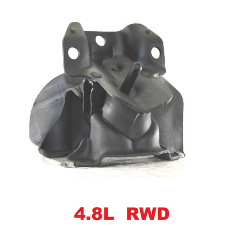 FRONT LEFT & RIGHT ENGINE MOUNT RWD 4.8L