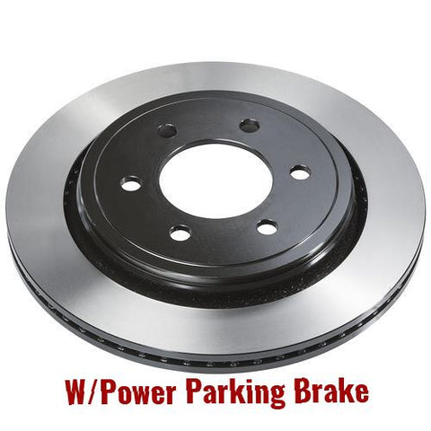Rear Brake Rotor W/Power Parking Brake (BD180667)
