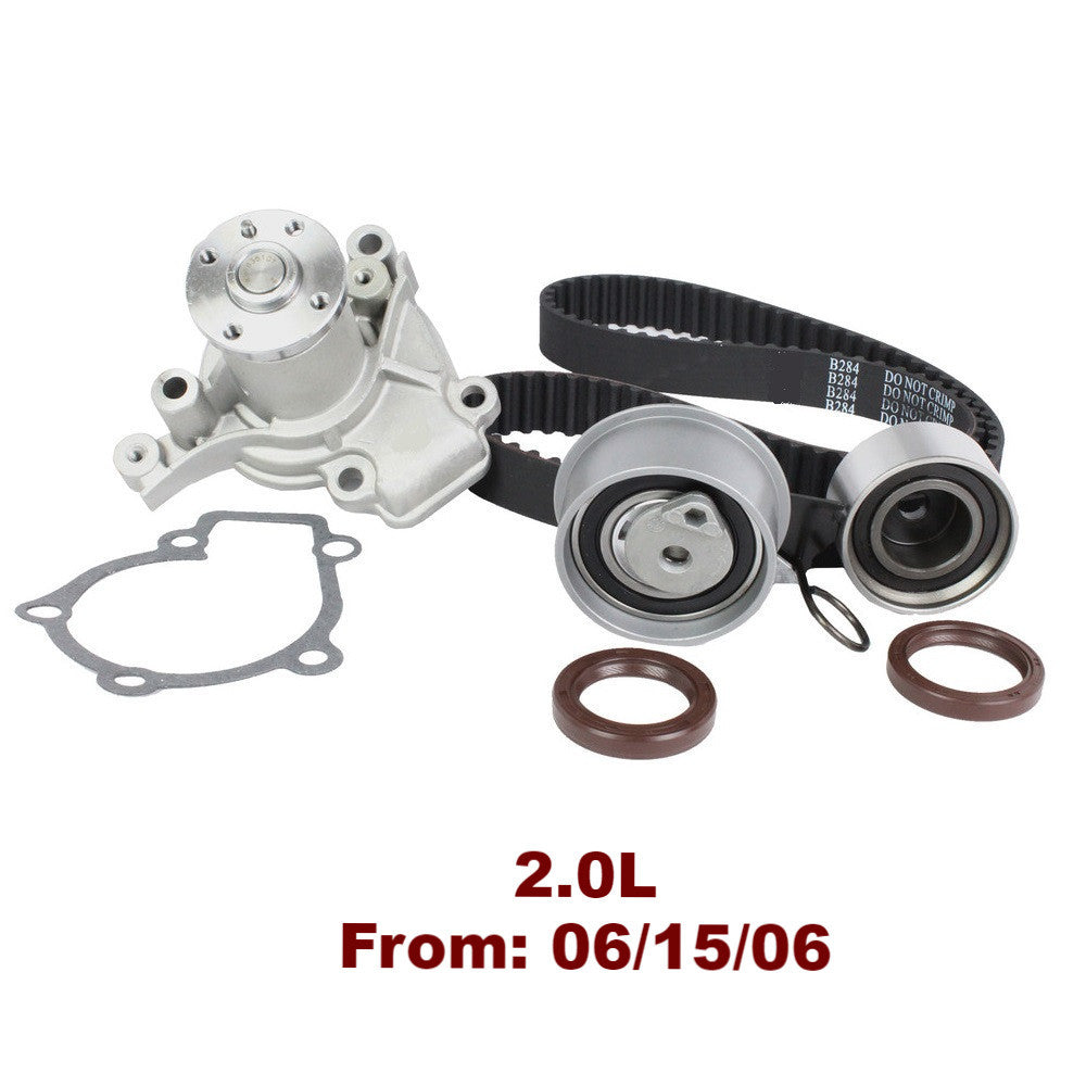 TIMING BELT KIT W/WATER PUMP 2.0L TBK124BWP