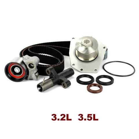 TIMING BELT KIT W/WATER PUMP 3.2L 3.5L (TBK143WP)