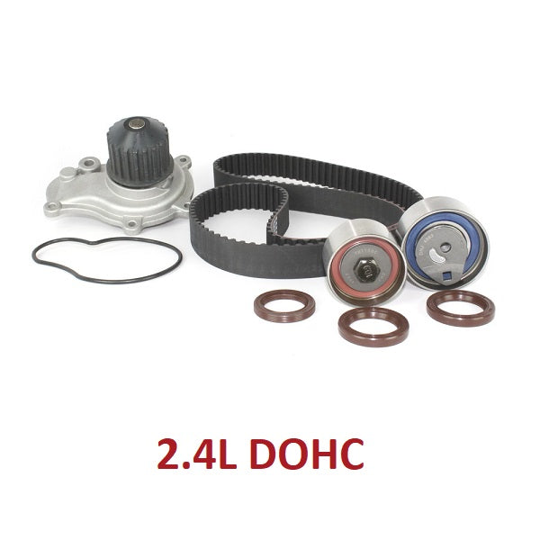 TIMING BELT KIT W/WATER PUMP 2.4L DOHC (TBK151BWP)