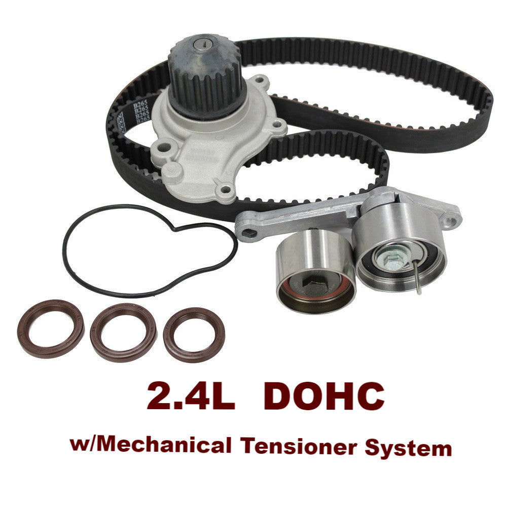 TIMING BELT KIT W/WATER PUMP 2.4L DOHC (TBK151WP)