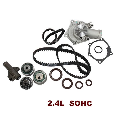 TIMING BELT KIT W/WATER PUMP 2.4L SOHC (TBK162WP)