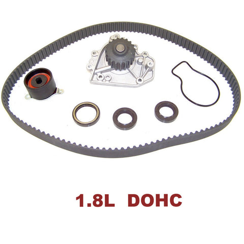 TIMING BELT KIT W/WATER PUMP 1.8L DOHC (TBK212AWP)