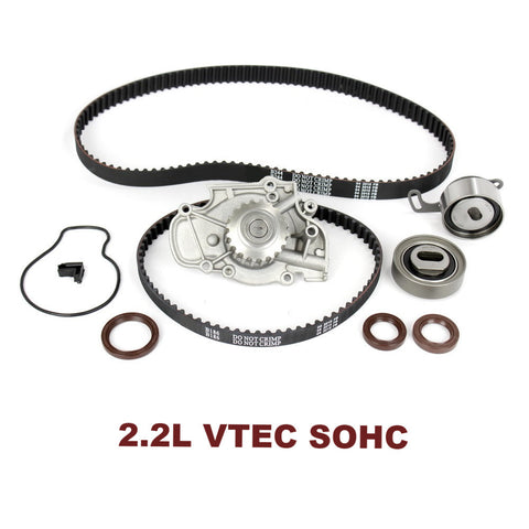 TIMING BELT KIT W/WATER PUMP 2.2L VTEC (TBK214WP)