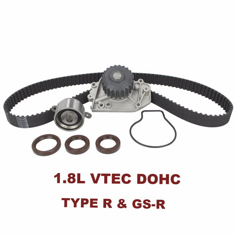 TIMING BELT KIT W/WATER PUMP 1.8L VTEC DOHC (TBK217AWP)
